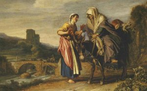 "Pieter Lastman, ""Ruth Declares her Loyalty to Naomi"""